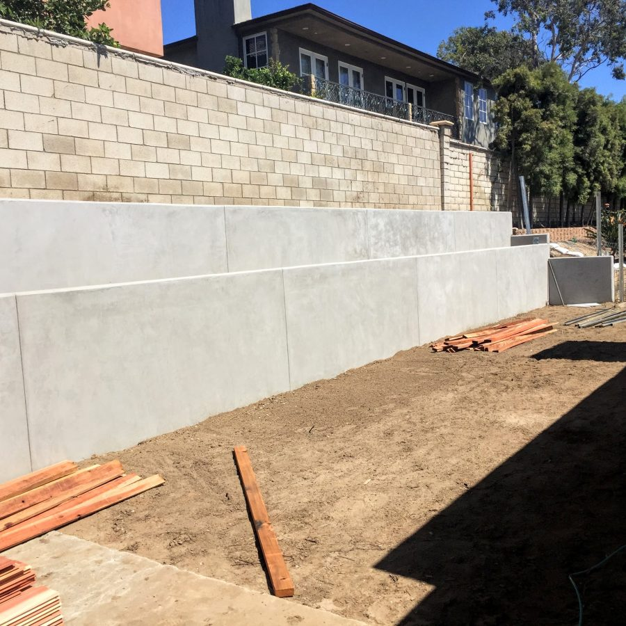 Wall Grade Sack and Patch Concrete